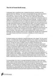 hsc eng adv module c notes the art of travel year hsc  art of travel alain de botton advanced english essay