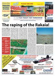 August Issue Fishing And Outdoors Newspaper By Fishing And
