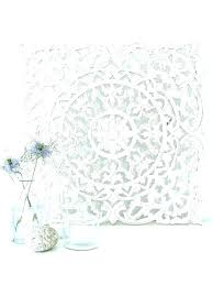 white wood wall decor white carved wood wall decor images for panel design pier 1 white