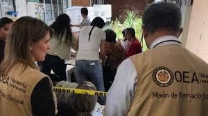 Resultado de imagen para elecciones en bolivia oea