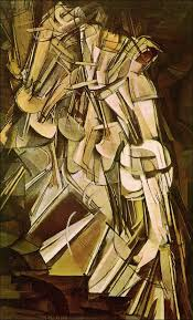 descending a staircase by marcel duchamp
