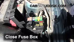 replace a fuse 1997 2003 mercury tracer 1997 mercury tracer ls 6 replace cover secure the cover and test component