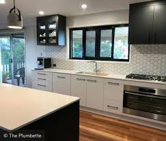 Two tone cabinets Kitchen Black And White Two Tone Cabinets With Tile Backsplash Kitchen Cabinet Kings Twotone Kitchen Cabinets To Inspire Your Next Redesign