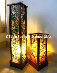 stained glass light table attractive lamps sessions small lamp