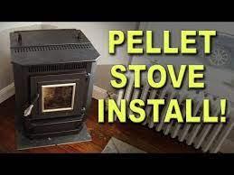 diy pellet stove installation you