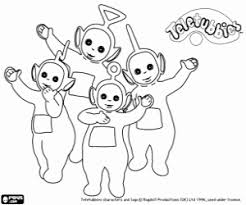 Small Picture Teletubbies coloring pages printable games