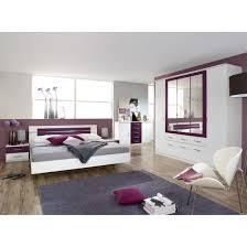 Schlafzimmer Set Burano 4 Teilig Alpinweißbrombeer