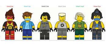 I decided to finish the rest of the Ninja Suits from my fanmade season  ideas (link in comments) : Ninjago