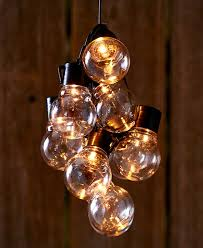 led solar string light sets ball shape bulbs