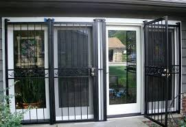 awesome how to secure a sliding glass door design burglar bar illbedead from the outside in