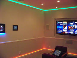 interesting design of the led light ideas that has cream wall can add the beauty inside the modern house design make it seems great design ideas inside the bedroom led lighting ideas