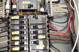 picture of install generator breaker and wires