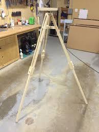 make it wooden tripod you