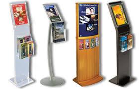 Flyer Display Stands Brochure Racks Flyer Holder Stands Floor Countertop 1