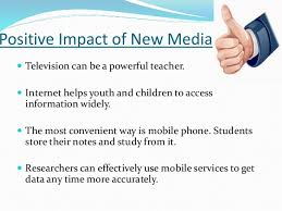 effects of new media on our society effects of