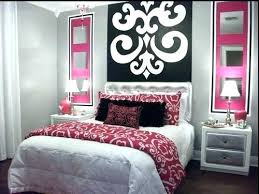 Gray Black White And Pink Bedroom Grey Room Decor Blush Home ...