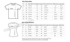 Mens And Womens Shirt Size Chart Com Bob Marley T Shirt Reggae Legend Tee Mens Womens