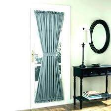 kitchen curtain ideas iding glass door curtains and panels home interior decorating doors back window treatments