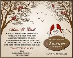 ruby anniversary gift 40th anniversary gift ideas 40th wedding anniversary gift pas anniversary gift family tree 8x10 print