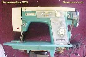 How To Thread A Dressmaker Sewing Machine 998b