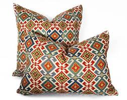 colorful throw pillows. Beautiful Colorful Southwestern Pillows Colorful Decorative Throw Tribal  Pillow Navajo Aztec Pillow Covers Red Blue Cream 18 20 NEW Inside Pillows L