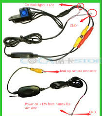 car stereo head unit how to connect the reverse rear view back up connect back up camera