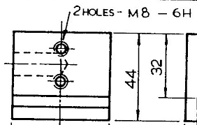 6h Thread Tolerance Chart In The Sketch M8 6h Means What Grabcad Questions