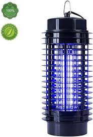 Industrial Bug Light Bug Zapper With Uv Light Trap Indoor Outdoor Mosquito Fly Insect Catcher Killer Pest Control Protects Up To 1 5 Acre For Residential Commercial And
