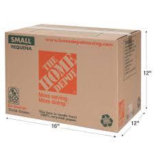 The Home Depot 16 In L X 12 In W X 12 In D Small Moving Box