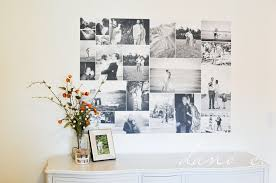 To Turn A Photo Collage Into A Removable Wall AdhesiveRemovable Wall Adhesive
