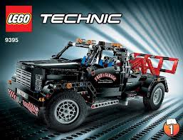 Technic : LEGO Pick-up Tow Truck Instructions 9395, Technic