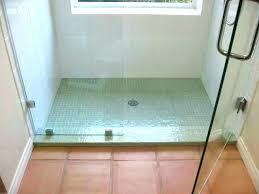 install glass subway tile shower how