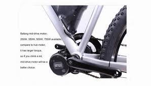 Bafang Bbs03 Crank Drive Motor 48v 1000w Electric Bicycle Wheel