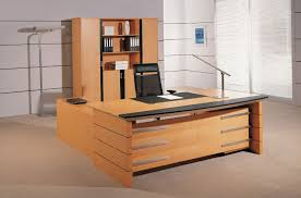 wooden office table. Office Tables Design Table Ideas Dark Brown Wooden U Shape Rectangle Black Storage Cabinets Stainless