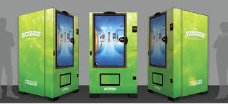 What Did First Vending Machines In Us Dispense Fascinating American Green Builds World's First Marijuana Vending Machine