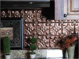 Metal Wall Tiles For Kitchen Metal Tile Backsplash Ideas Roselawnlutheran