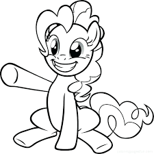 Little Pony Coloring Pages My Little Ponies Coloring Pages My Little