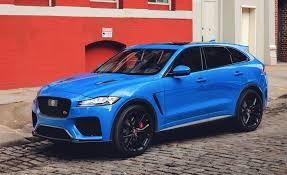2020 jaguar f pace svr new interior