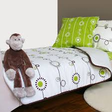 george toddler bedding set by olli lime