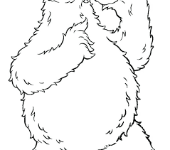 Cookie Monster Coloring Pages Printable Cookies Coloring Pages