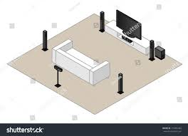 home theater front speakers. a 6.1 home theatre setup.with subwoofer, centre speaker,rear speaker theater front speakers u