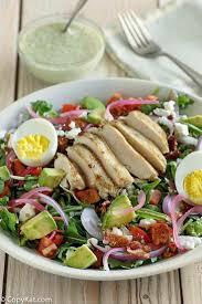 copycat panera bread green dess cobb salad