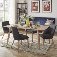 abelone scandinavian dining table by inspire q modern on today overstock 12615636