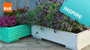 Build a planter from decking