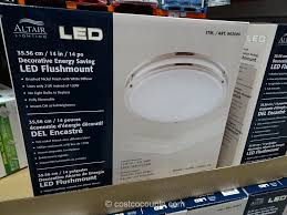 Costco Led Can Lights Altair Lighting 14 Inch Flushmount Led Light Fixture