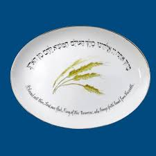 ch plate personalized hand painted porcelain judaica ch plate