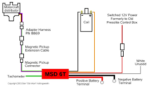 msd coil wiring diagram wiring diagram adapter harness and msd coil wiring diagram magnetic pickup connector ballast resistor and msd