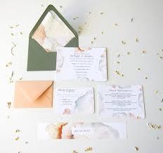 Print Your Own Invites Printable Watercolor Wedding Invitation Suite Digital