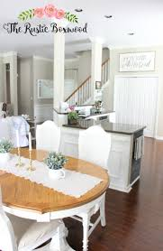 Dining Room And Kitchen Combined Open Concept In A Small Home Dining Room Kitchen Entry And