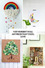 9 diy nursery wall art pieces that you ll love cover